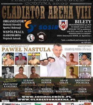 Gladiator Arena 8: Słubice, 29/08/2015