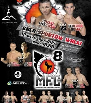 Makowski Fighting Championship 8: Zielona Góra, 12/09/2015