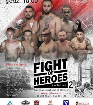 Fight of Heroes 2 Exclusive: Mysłowice, 06/09/2015