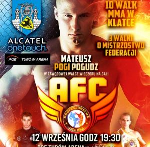 AFC 1 / PLMMA 58: Zgorzelec, 12/09/2015