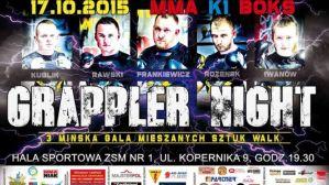 Grappler Night 3: Mińsk Mazowiecki, 17/10/2015