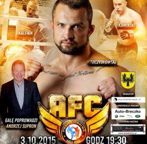 VI Gala MMA CUP / AFC 2 Wschód 2015: Białystok, 03/10/2015