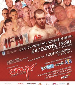 IFN 1 - Incredible Fighting Night: Częstochowa, 24/10/2015