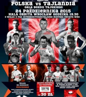 Martial Arts Contest 1 Polska vs Tajlandia: Wrocław,24/10/15
