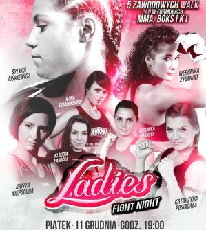 Ladies Fight Night: Łodź, 11/12/2015