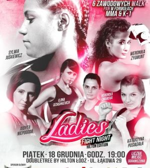 Ladies Fight Night: Łodź, 18/12/2015