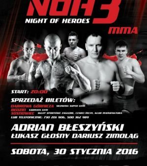 Night of Heroes 3: Sosnowiec, 30/01/2016