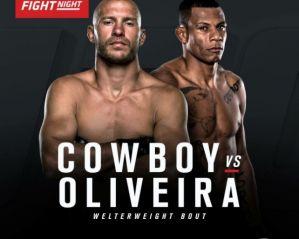 UFC Fight Night 83 Cowboy vs Oliveira: Pittsburgh, 21/02/2016