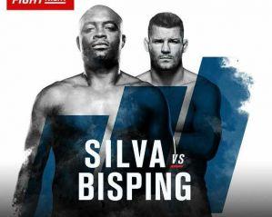 UFC Fight Night 84 Silva vs Bisping: Londyn, 27/02/2016