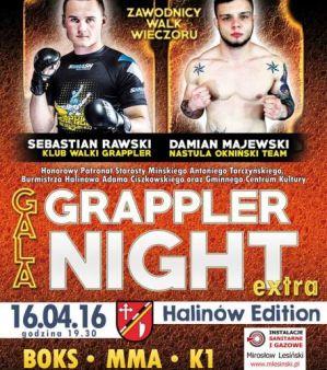 Grappler Night Extra: Halinów, 16/04/2016