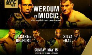 UFC 198 Werdum vs Miocic: Kurytyba, 15/05/2016