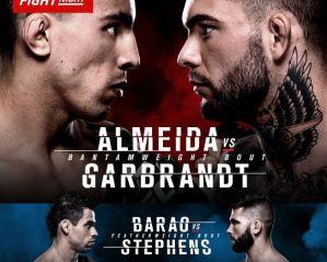 UFC Fight Night 88 Almeida vs. Garbrandt: Las Vegas, 29/05/2016