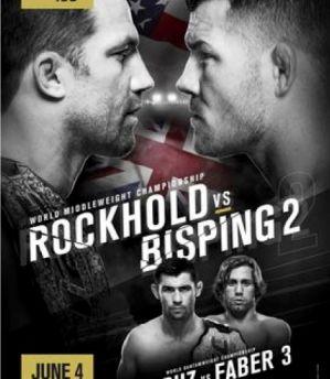 UFC 199 Rockhold vs. Bisping 2: Inglewood, 04/06/2016