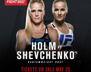 UFC on FOX 20 Holm vs Shevchenko: Chicago, 23/07/2016