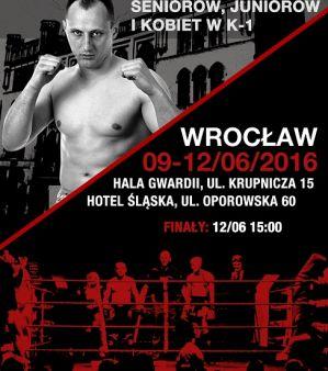 Mistrzostwa Polski K-1: Wrocław, 09 - 12/06/2016