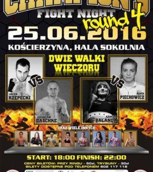 Champion's Fight Night - Round 4: Kościerzyna, 25/06/2016
