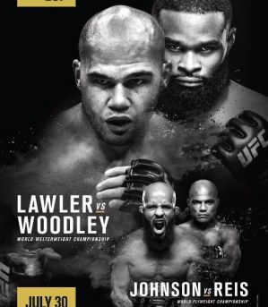 UFC 201 Lawler vs. Woodley: Atlanta, 30/07/2016