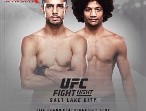 UFC Fight Night 92 Rodriguez vs. Caceres: Salt Lake City, 06/08/2016