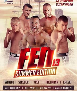 FEN 13 Summer Edition: Gdynia, 13/08/2016