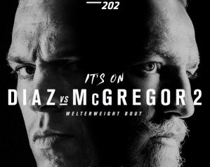 UFC 202 Diaz vs McGregor 2: Las Vegas, 20/08/2016