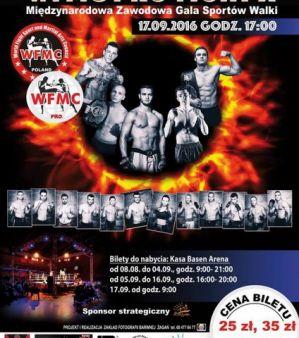 WFMC Pro Fight X: Żagań, 17/09/2016