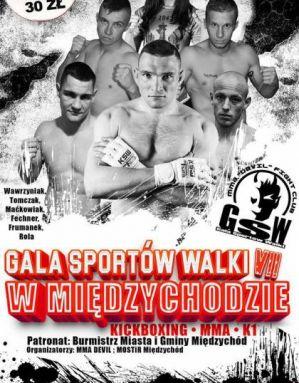 7 Gala Sportów Walki: Międzychód, 15/10/2016