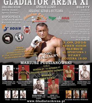 III Słubicka Gala MMA / Gladiator Arena 11: Słubice, 03/09/2016