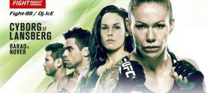 UFC Fight Night 95 Cyborg vs. Lansberg: Brasilia, 24/09/2016
