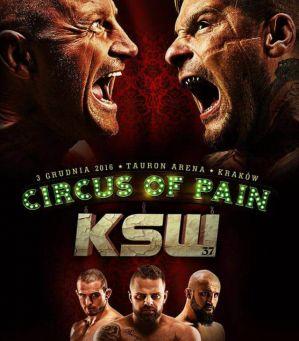 KSW 37 Circus of Pain: Kraków, 03/12/2016