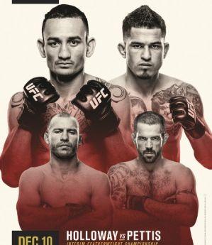 UFC 206 Holloway vs. Pettis: Toronto, 10/12/2016