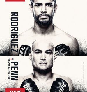 UFC Fight Night 103 Rodríguez vs. Penn: Phoenix, 15/01/2017
