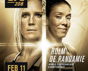 UFC 208 Holm vs de Randamie: New York, 11/02/2017