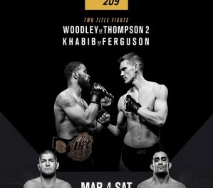 UFC 209 Woodley vs. Thompson 2: Paradise, 04/03/2017