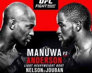 UFC Fight Night 107 Manuwa vs Anderson: Londyn, 18/03/2017