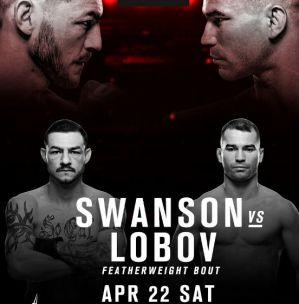 UFC Fight Night 108 Swanson vs. Lobov: Nashville, 22/04/2017