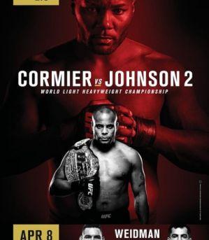 UFC 210 Cormier vs Johnson 2: Nowy Jork, 08/04/2017