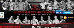IV Kaliska Zawodowa Gala Muaythai: Kalisz, 13/05/2017