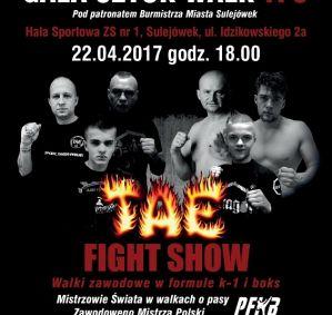 TAE Fight Show: Sulejówek, 22/04/2017