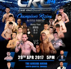 CRC 4 Champions Rizing: Dublin - Swords, 29/04/2017