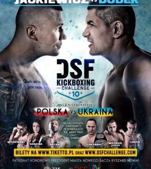 DSF Kickboxing Challenge 10 - Wyniki