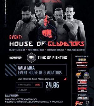House of Gladiators: Katowice, 24/06/2017