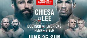UFC Fight Night 112 Chiesa vs. Lee: Oklahoma City, 25/06/2017