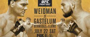 UFC on FOX 25 Weidman vs Gastelum: New York, 22/07/2017