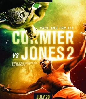 UFC 214 Cormier vs. Jones 2: Anaheim, 29/07/2017