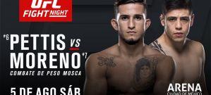 UFC Fight Night 114 Pettis vs. Moreno: Mexico City, 05/08/2017
