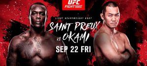 UFC Fight Night 117 Saint Preux vs. Okami: Saitama, 23/09/2017