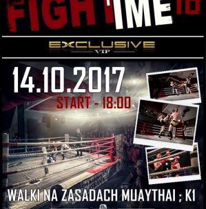 FightTime 16 Exclusive VIP: Niepołomice, 14/10/2017