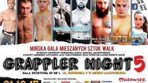 Grappler Night 5: Mińsk Mazowiecki, 21/10/2017