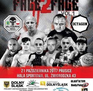 Octagon Face 2 Face Vol. 1: Prusice, 21/10/2017