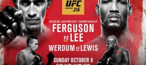 UFC 216 Ferguson vs. Lee: Paradise, 07/10/2017